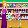 Barbie la cumparaturi