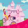 Jocuri barbie pe bicicleta