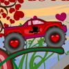 Jocuri cu camionul urias al dragostei