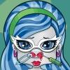 Jocuri de curatat nasului Barbie Draculaura