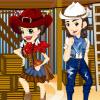 Jocuri de imbracat cuplu cowboy