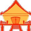 Thai tradiţionale casa Jigsaw