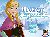 Jocuri Anna Frozen de imbracat