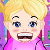 Jocuri bebelusul Hazel la dentist