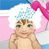 Jocuri ajuta bebelusul Hazel sa faca baie